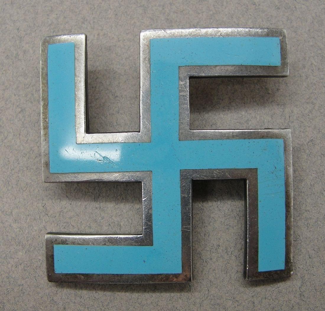 Early Swastika Badge