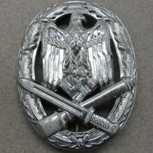 Army/Waffen-SS General Assault Badge, Deep Dish Variant