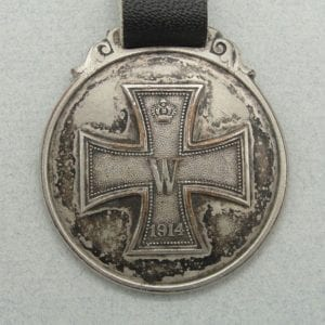 Iron Cross Watch Fob