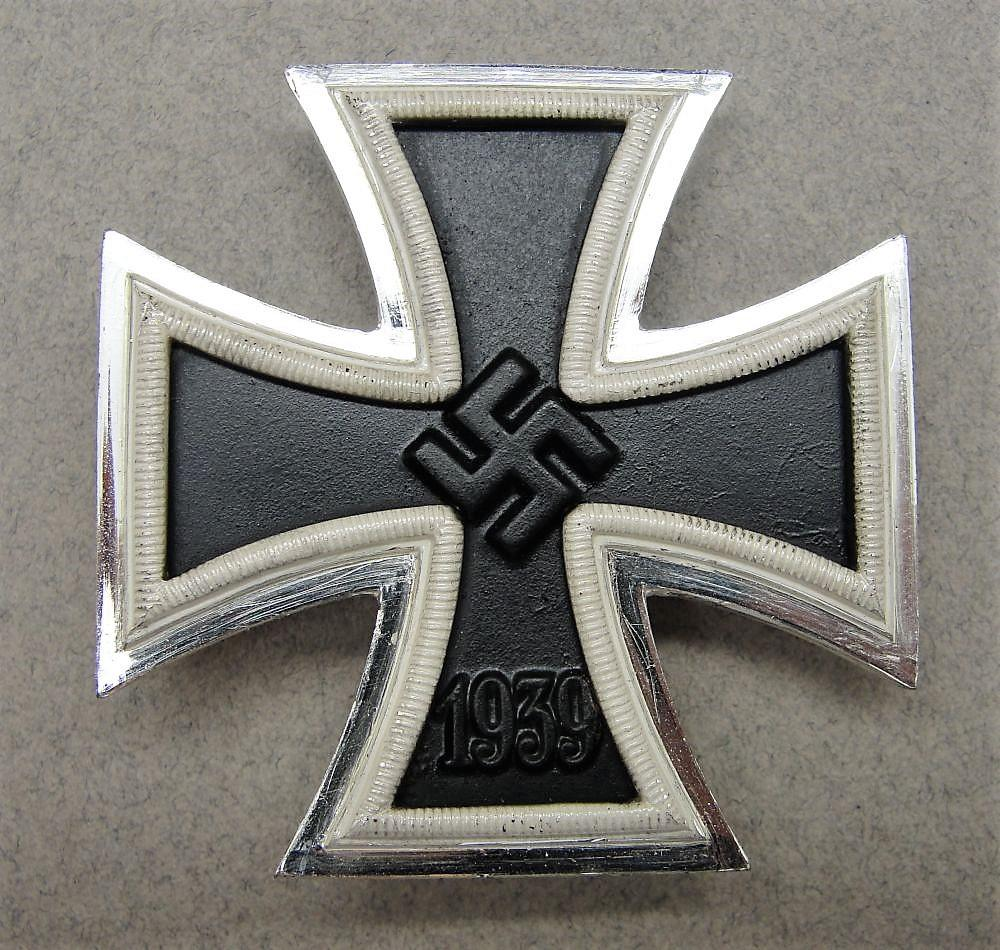 "1939 Iron Cross First Class by ""26"" B.H. Mayer Choice!"