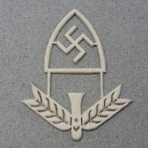 RAD Officer Cap Badge Unterlagen
