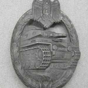 Army/Waffen-SS Panzer Assault Badge, Bronze Grade