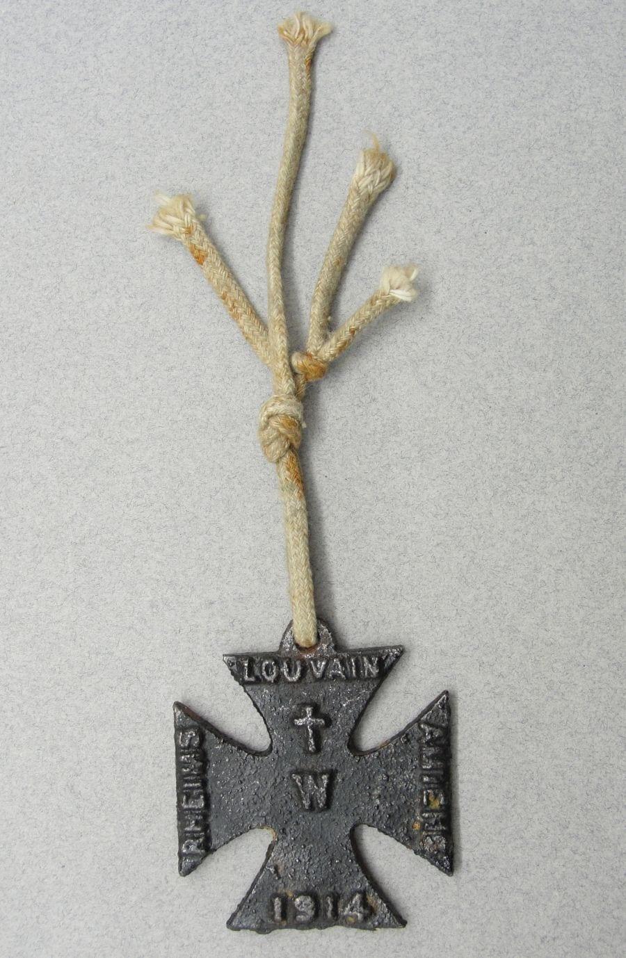 WW1 Anti German Propaganda Iron Cross