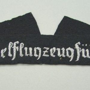 Segelflugzeugführer Cuff Title
