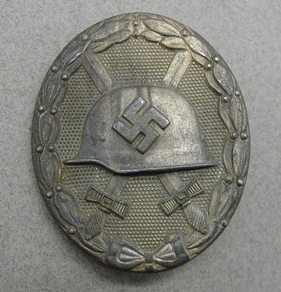 "1939 Wound Badge, Silver Grade by ""65"" Klein & Quenzer"