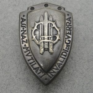 Italian Fascist War Wounded Lapel Badge