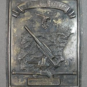 Condor Legion Plaque