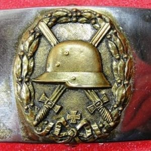 Early Fighter's Belt Buckle