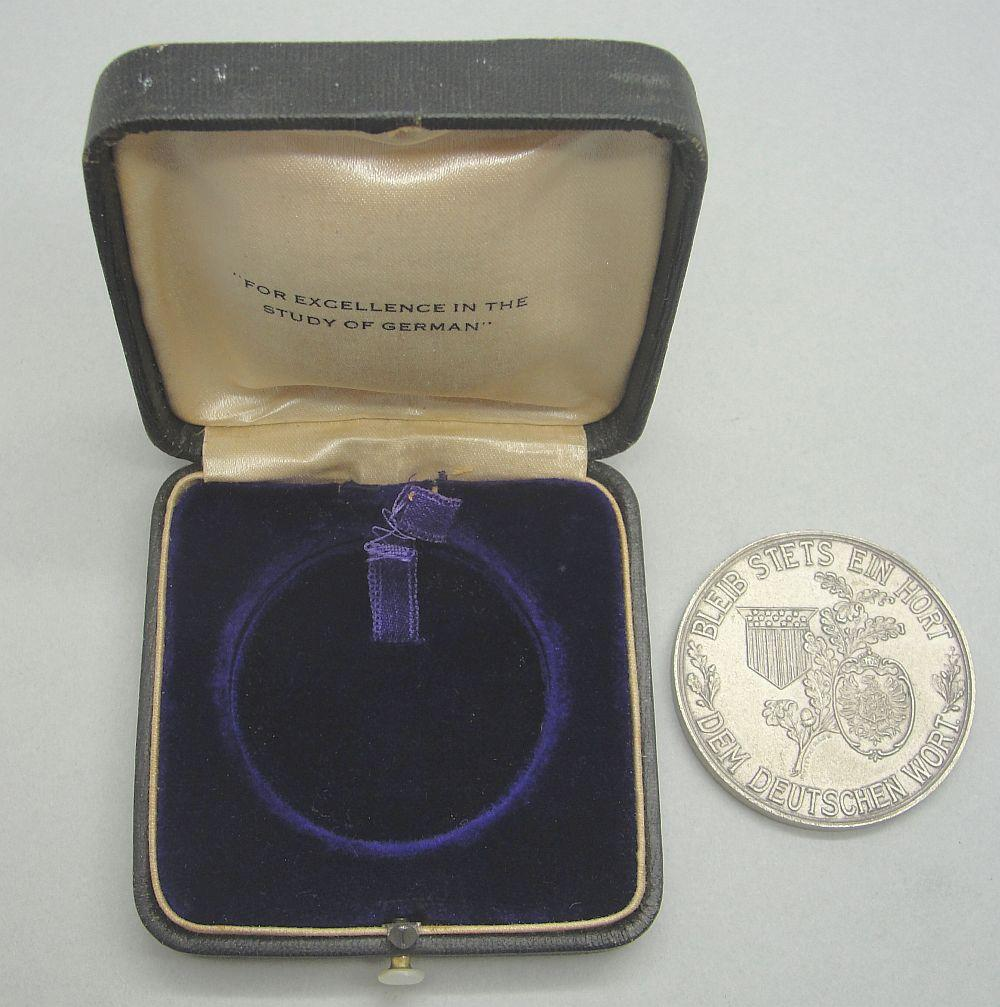 Cased German American National Bund Honor Prize for New York State