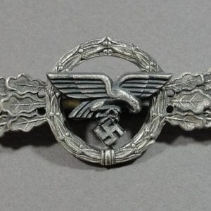 Luftwaffe Transport and Glider Pilot's Clasp, Silver Grade by FLL