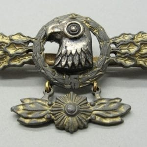 Luftwaffe Squadron Clasp for Reconnaissance Pilots Gold Grade with Pendant