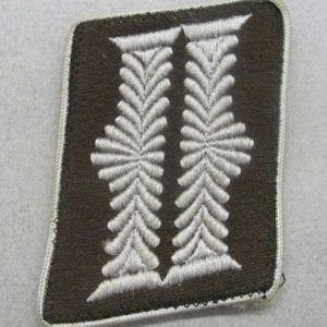Organisation Todt Officer's Collar Tab Oberstabsfrontführer/Ober Bauleiter