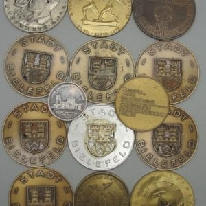 Large lot of Table Medals