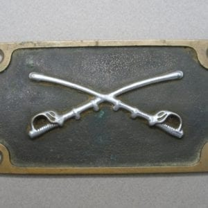 Cavalry Plaque