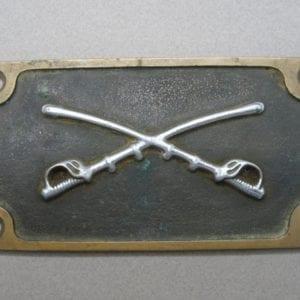 Cavalry Plaque