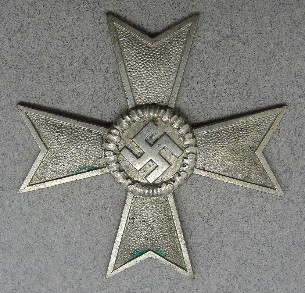 War Merit Cross, First Class, Without Swords Planchet