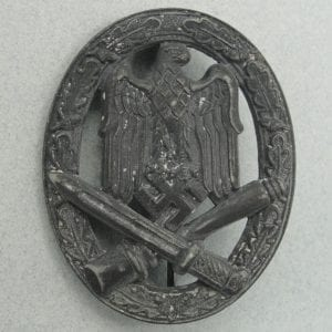 "Army/Waffen-SS General Assault Badge by ""f.o"" Friedrich Orth"