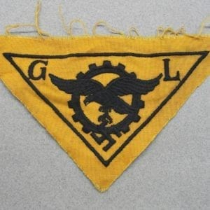 Luftwaffe Civilian Technician Breast Badge