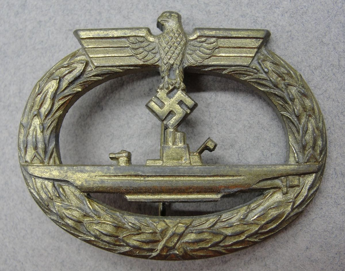 """Kriegsmarine U-Boat Badge by """"R.K."""""""