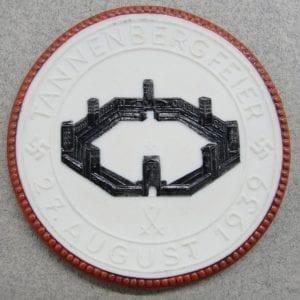 Meissen Medallion - Tannenberg Von. Hindenburg / Tannenberg