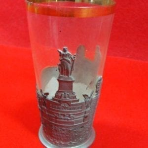 Niederwald Denkmal War Memorial Souvenir Glass
