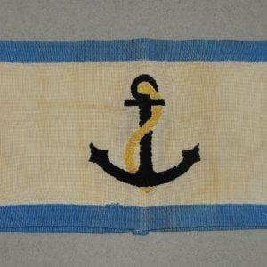 Kriegsmarine Air Defense Leader Armband