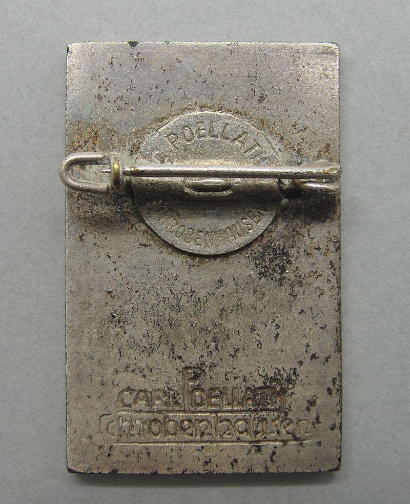 1938 Bavarian Ski Championship Badge