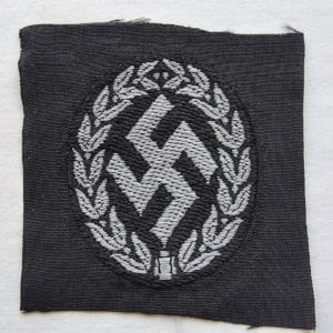 Schuma Sicherheitspolizei (Internal Security Police) Cap Insignia