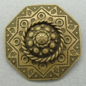 German Shield Broach