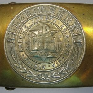 Pfadfinder in the Christian Association of Young Men Belt Buckle