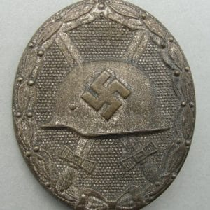"1939 Wound Badge, Silver Grade, by ""65"""