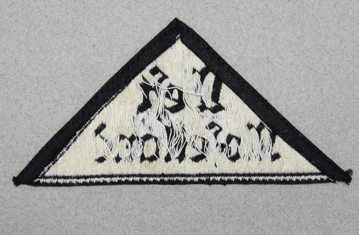 Hitler Youth BDM District Sleeve Triangle - West Moselland