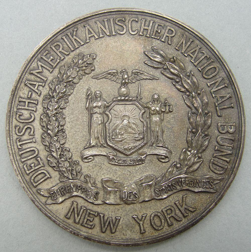 German American National Bund Honor Prize for New York State