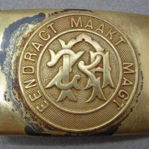 German-Made M-1895 South African Transvaal Republic Second Boer War Belt Buckle