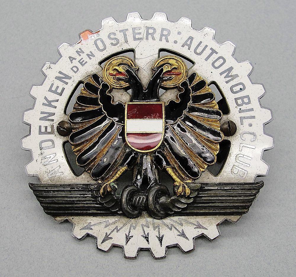 Austrian Automobile Club Honor Plaque