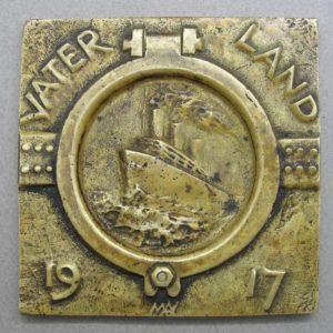 VATERLAND 1917 Plaque