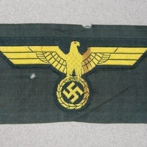 Kriegsmarine Coastal Artillery Breast Eagle