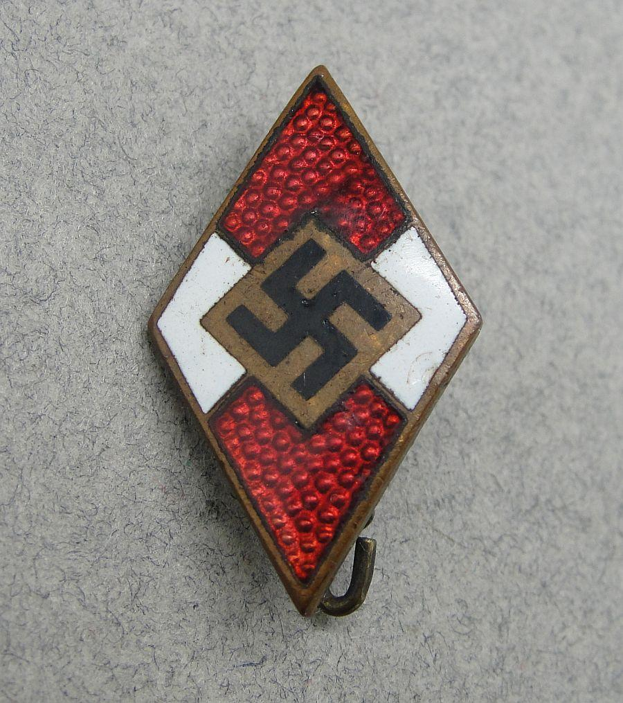 Hitler Youth Membership Badge by RZM M1/63
