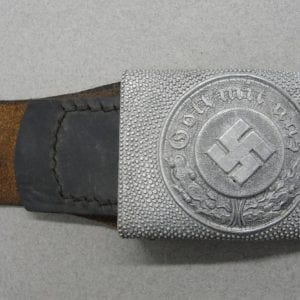 Late-War Police EM/NCO's Belt Buckle