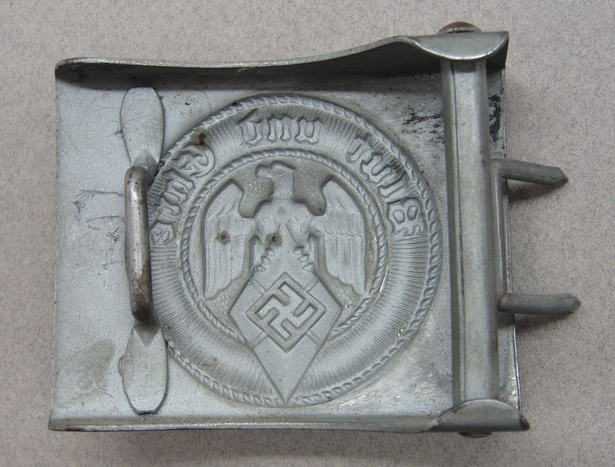 "Hitler Youth Belt Buckle by ""RZM M4/23"""