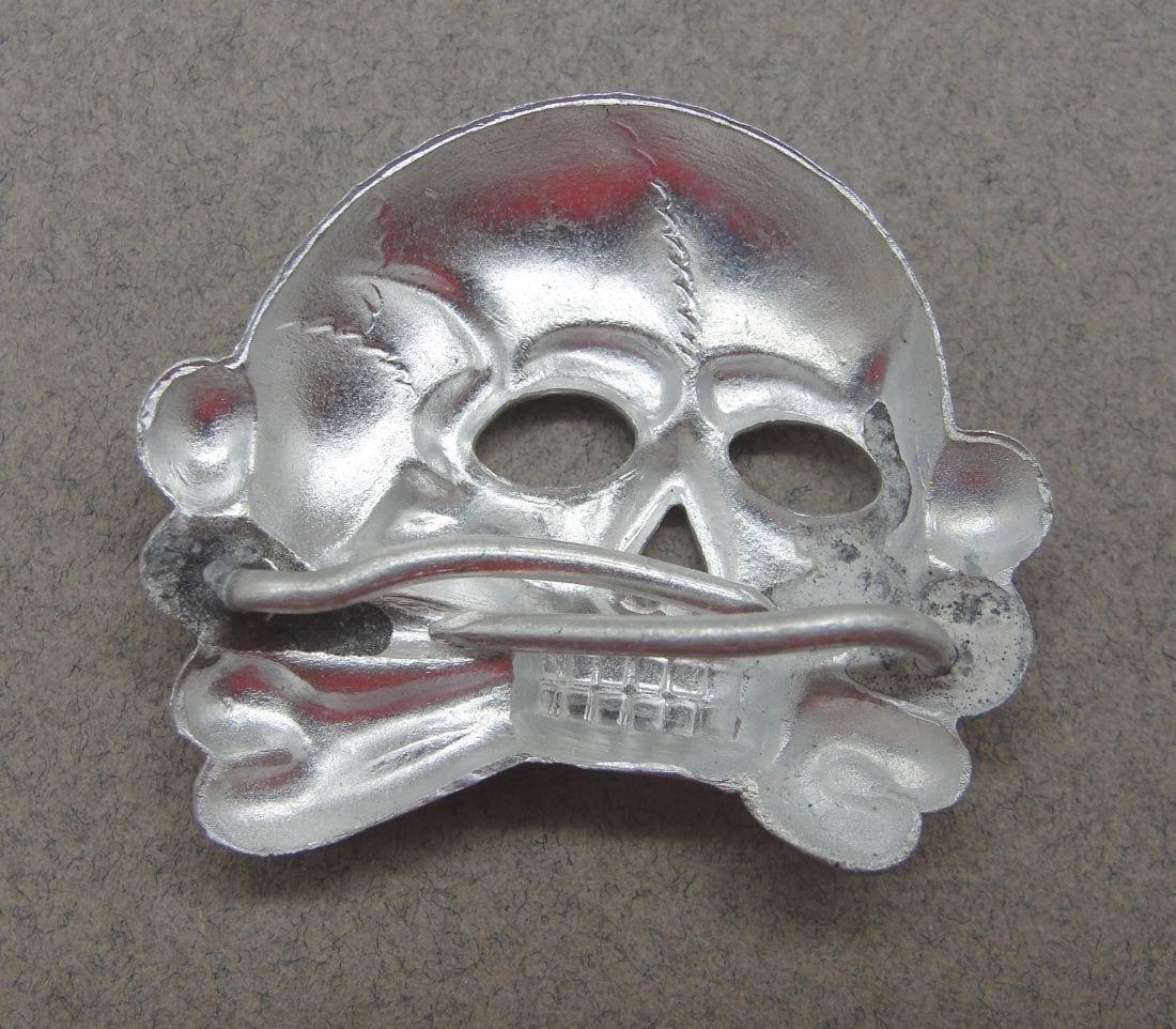 SS Visor Cap Skull, Jawless First Pattern