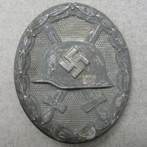 1939 Wound Badge, Silver Grade by Klein & Quenzer