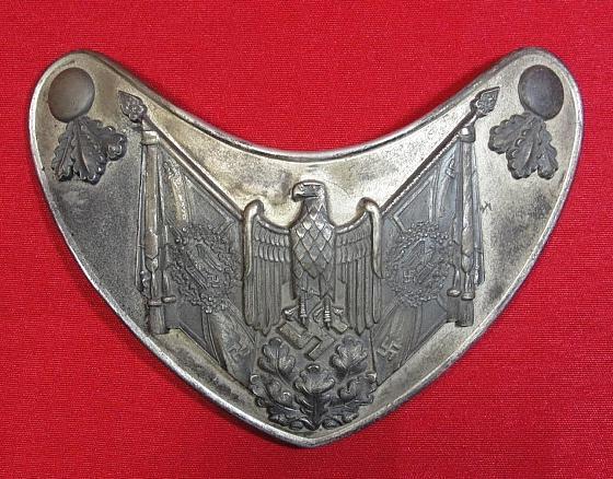Army Standard Bearer's Gorget by Assmann