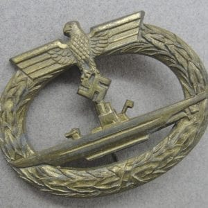 "Kriegsmarine U-Boat Badge by ""R.K."""