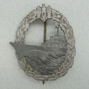 "Kriegsmarine Destroyer Badge by ""R.S."""
