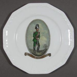 """Rosenthal Porcelain """"LEIB - GARDE DRAGONDER - HESSEN"""" Plate"""
