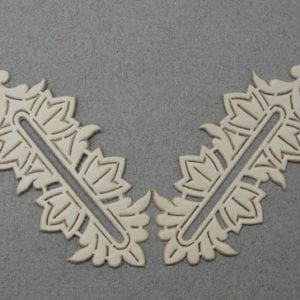 Army General's Collar Tabs Unterlagen