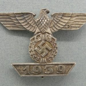 "1939 Spange to Iron Cross, First Class by  ""Unknown Maker"""