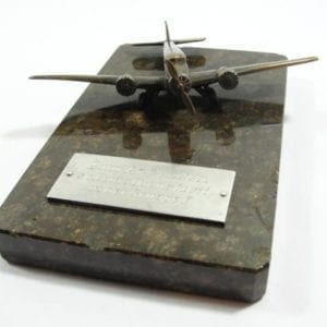 JU-52 Award Plaque