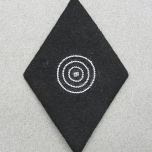SS Marksmanship Sleeve Diamond - Second Class with SS RZM Tag